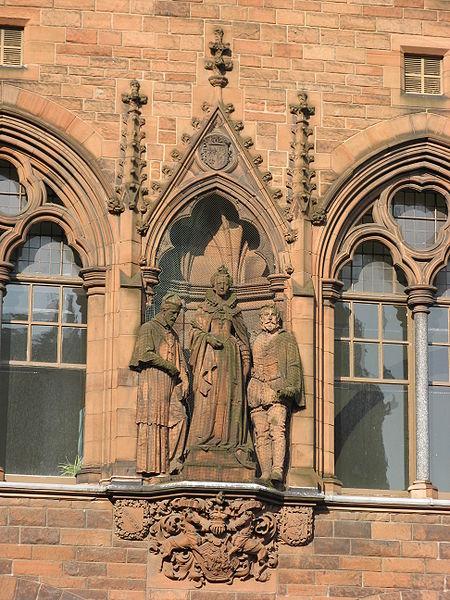 Статуя Марии, Королевы Шотландской. Эдинбург.