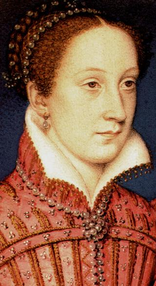 Мария Стюарт, Королева Шотландская, в 1558 году.