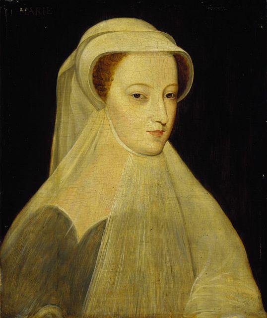 Мария Стюарт в белом трауре.