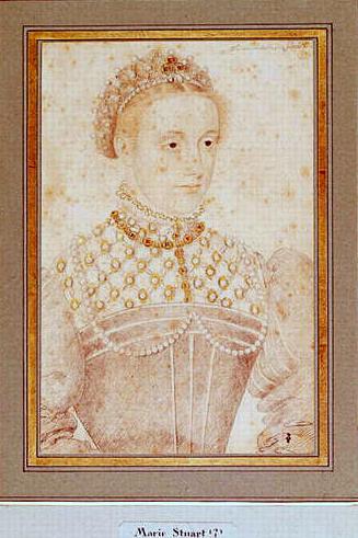 Портрет неизвестной дамы, предположительно Марии Стюарт.