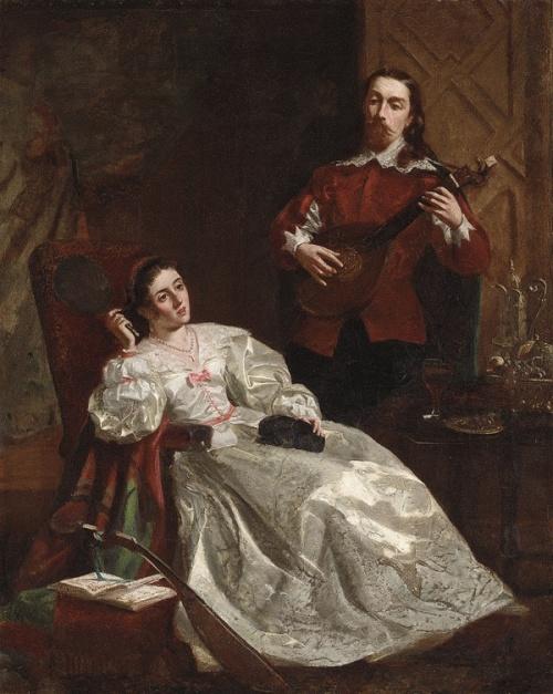 Мария, королева Шотландская, с Риччо.