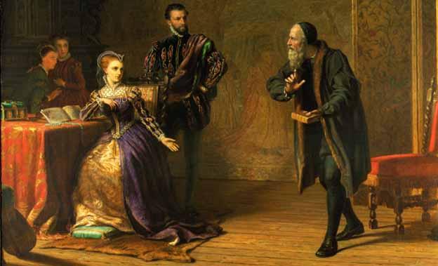 Мария, королева Шотландская и Джон Нокс.