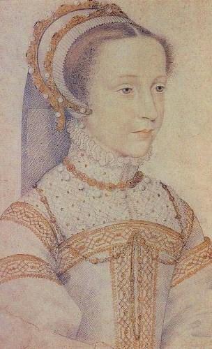 Мария Стюарт, Королева Шотландская в возрасте 13 лет.