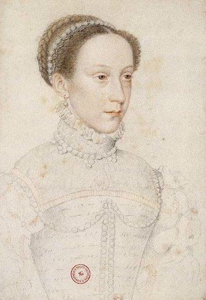 Мария Стюарт, Королева Шотландская, в 1559 году.