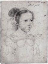 Мария Стюарт в возрасте 7-8 лет