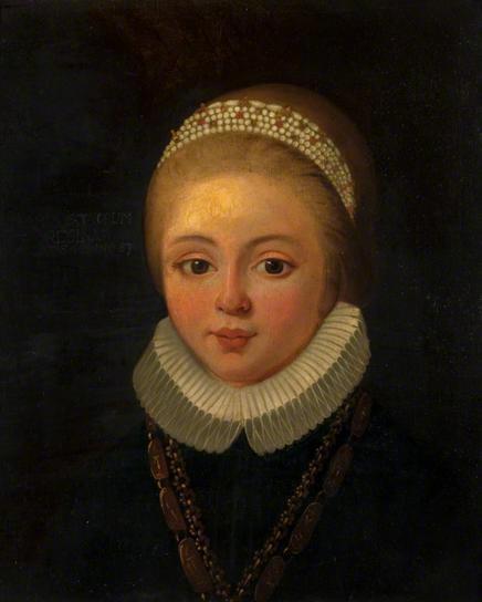 Мария Стюарт, Королева Шотландская, в детском возрасте.