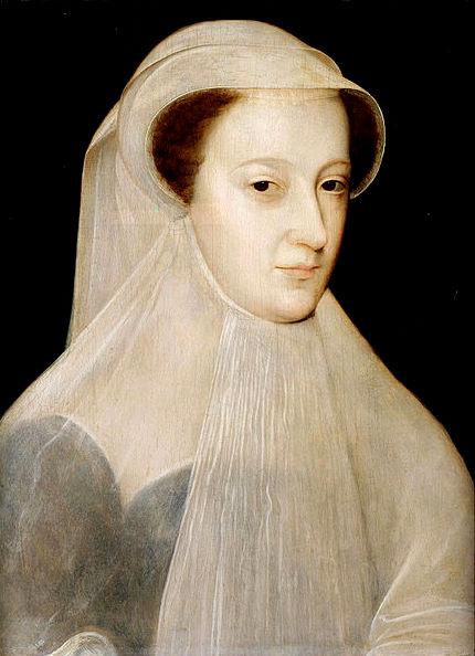 Мария Стюарт, Королева Шотландская, в белом трауре.