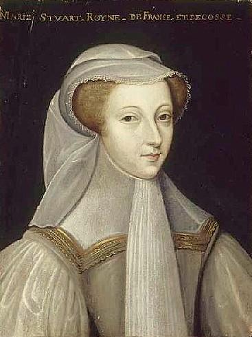 Мария Стюарт в трауре по Франциску II.