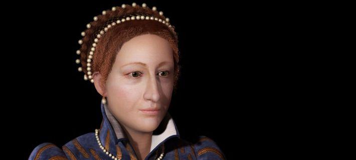 Виртуальная реконструкция облика Королевы Шотландской