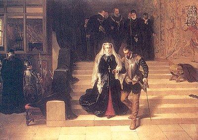 Шествие на казнь Марии, королевы Шотландской.