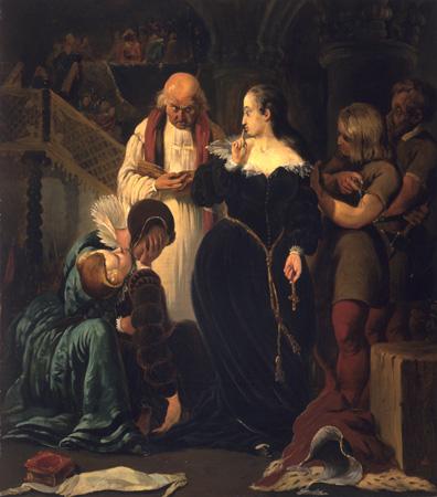 Казнь Марии, королевы Шотландской.