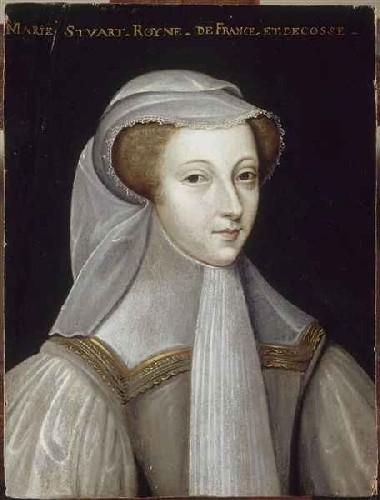 Мария Стюарт в трауре по Франциску II