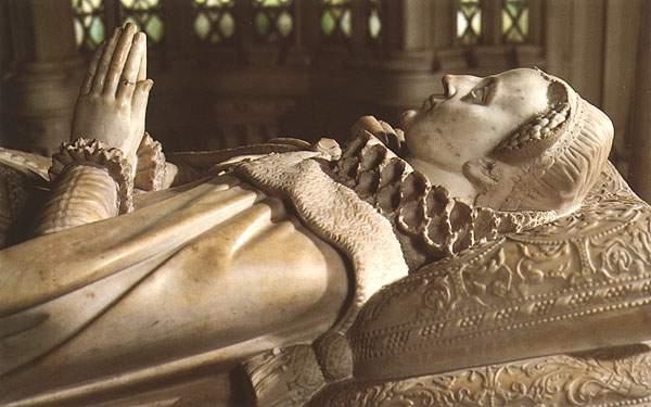 Гробница Марии, королевы Шотландской. Вестминстерское Аббатство, Лондон.