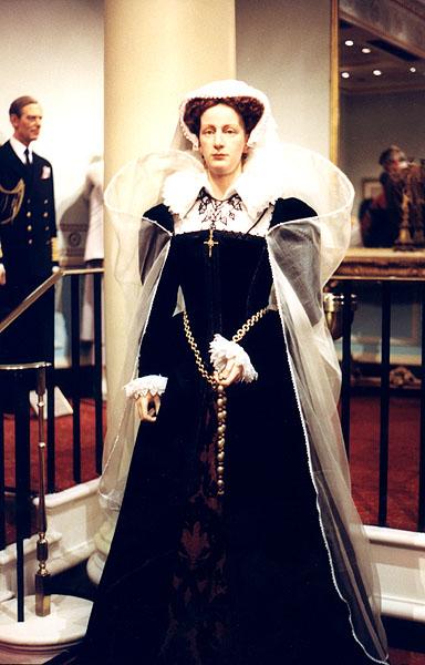 Мария Стюарт, королева Шотландская. Восковая фигура, Музей Мадам Тюссо, Лондон.