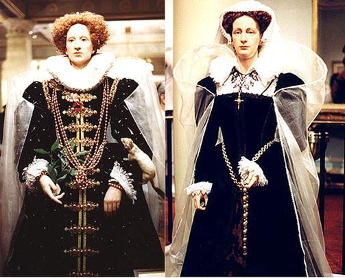 Мария Стюарт и Елизавета I