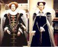 Мария Стюарт и Елизавета I. Музей восковых фигур Мадам Тюссо.